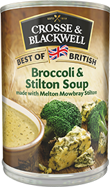 Broccoli & Stilton Soup -