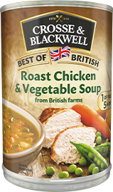 Roast Chicken & Vegetable Soup -