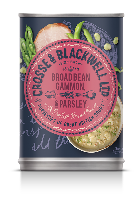 Broad Bean, Gammon & Parsley - Crosse & Blackwell