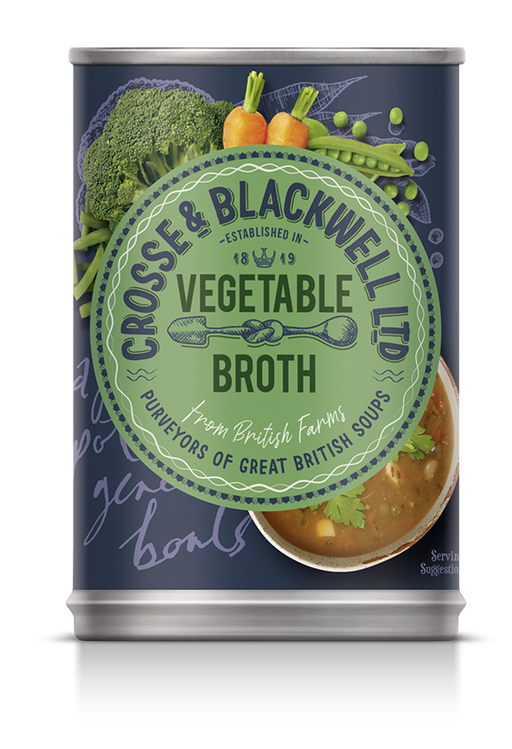 Vegetable  Broth - Crosse & Blackwell