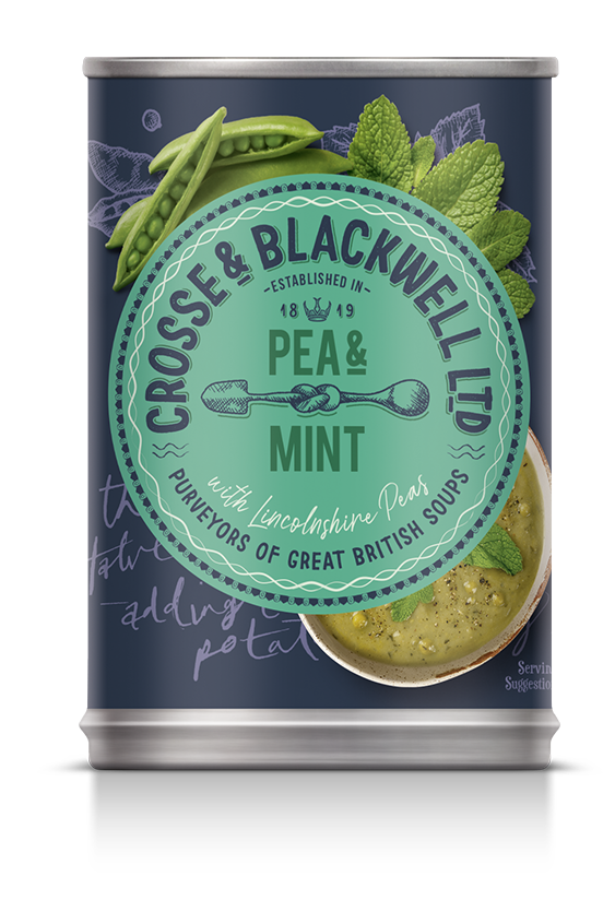 Pea  & Mint - Crosse & Blackwell