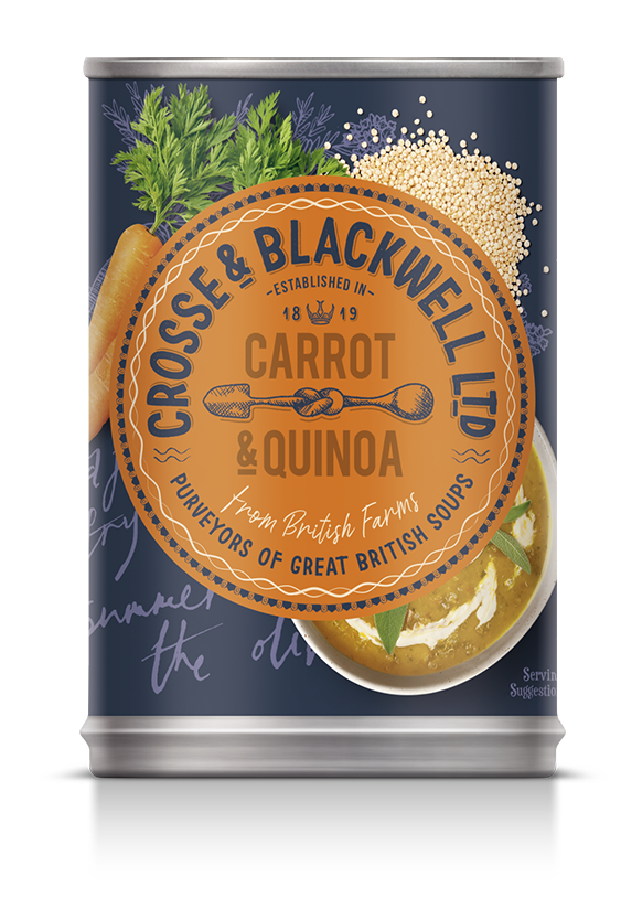​Carrot  & Quinoa​ - Crosse & Blackwell