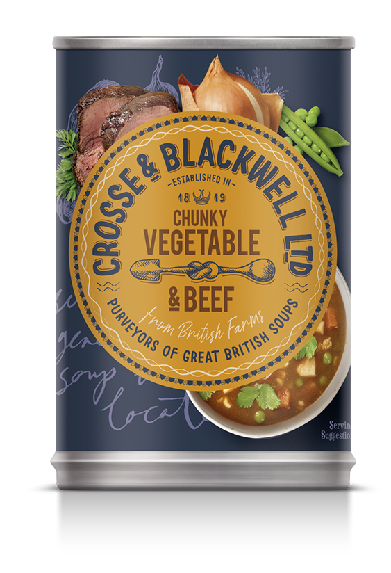 Chunky Vegetable & Beef - Crosse & Blackwell