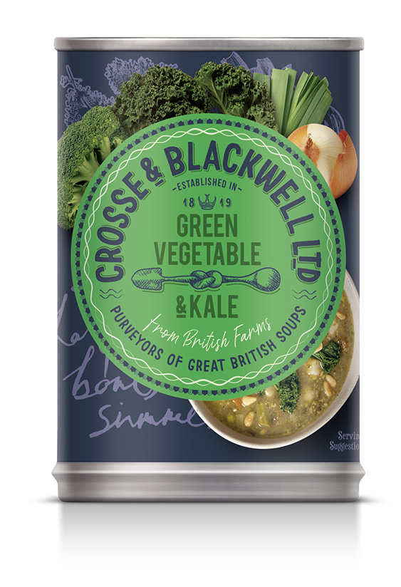 Green Vegetable  & Kale - Crosse & Blackwell