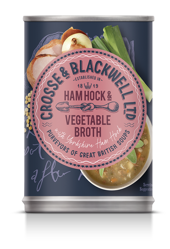 Ham Hock & Vegetable Broth - Crosse & Blackwell